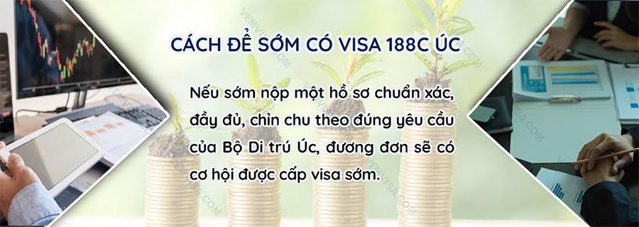 Bí quyết chuẩn bị hồ sơ xin visa 188C Australia