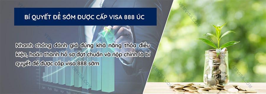 Cách làm hồ sơ xin visa định cư Úc 888 chuẩn xác