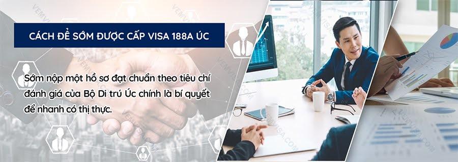 Thời gian chờ visa 188A được xét duyệt là bao lâu?