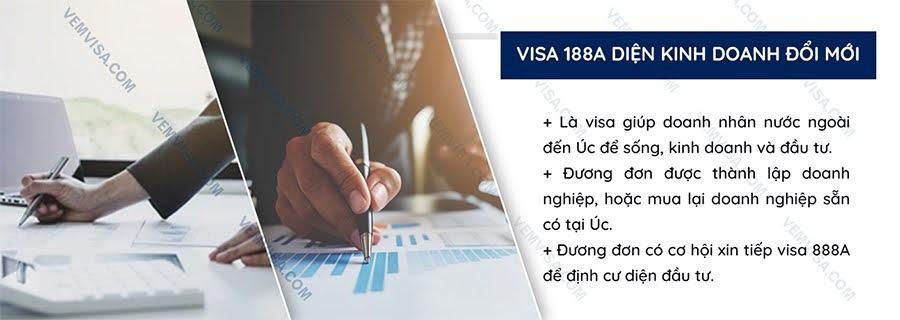 Visa 188A diện kinh doanh đổi mới là gì