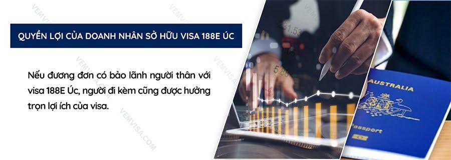 Quyền lợi của doanh nhân sở hữu visa 188E Úc